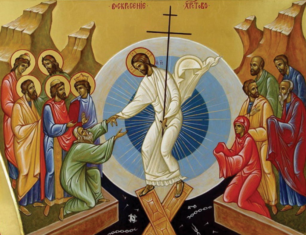 Icon of Resurrection of Christ